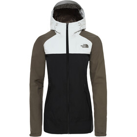 The North Face Stratos Jacket Women tnf black/new taupe green/tin grey